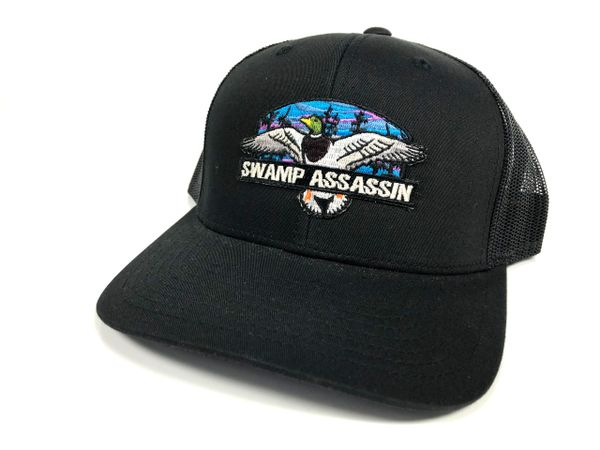 The Mallard Snapback Sunset Black