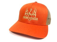 NEW ORANGE/KHAKI LOGO SNAPBACK