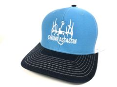 NEW COLUMBIA BLUE/WHITE WITH NAVY DETAIL LOGO SNAPBACK