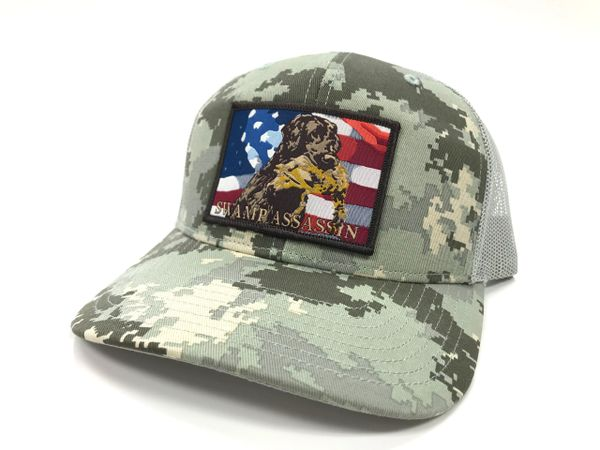 Swamp Assassin DigiCamo Freedom Retriever Series Snapback