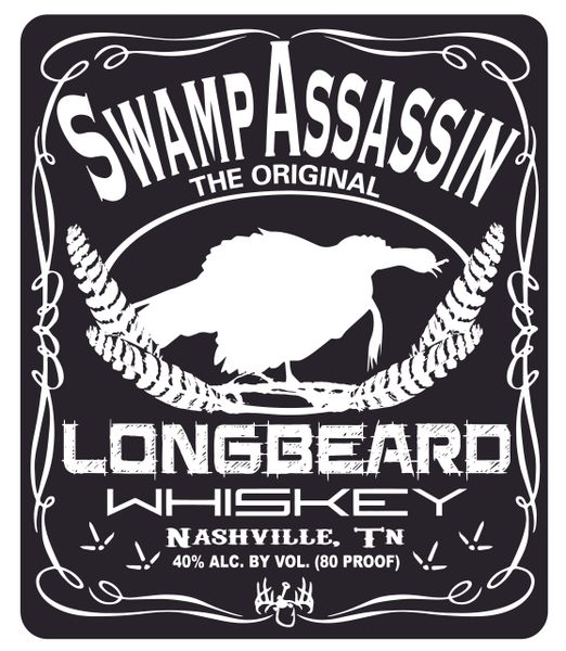 Official Longbeard Whiskey Decals