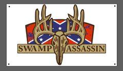 Swamp Assassin Dixie Full Rut Banner