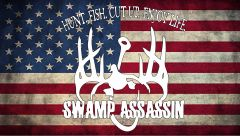 Swamp Assassin Old Glory Banner