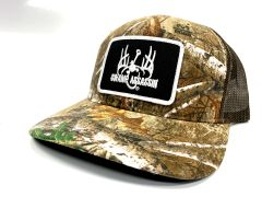 New Swamp Assassin Realtree Xtra Ranch Series BaseballFit Snapback (Black/White Patch)