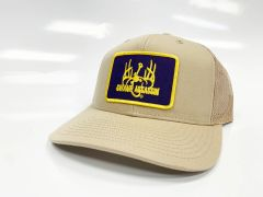 New Swamp Assassin Khaki Ranch Series BaseballFit Snapback (AllKhaki Purple Gold Patch)