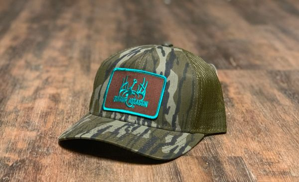 Swamp Assassin Bottomland Original Ranch Series Snapback Brown/Teal