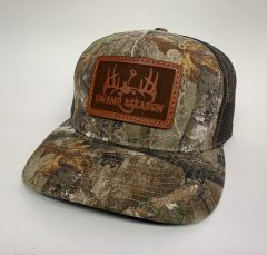 NEW SADDLE LEATHER SERIES PINTAIL SNAPBACK REALTREE XTRA/BROWN **LIMITED STOCK**