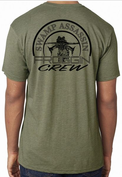 Swamp Assassin Froggin Crew Next Level Tees