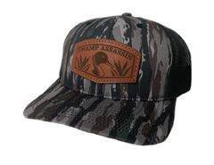 NEW SADDLE LEATHER SERIES PINTAIL SNAPBACK REALTREE ORIGINAL CAMO **LIMITED STOCK**