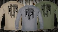 Swamp Assassin Freedom Whitetail Comfort Colors Longsleeve