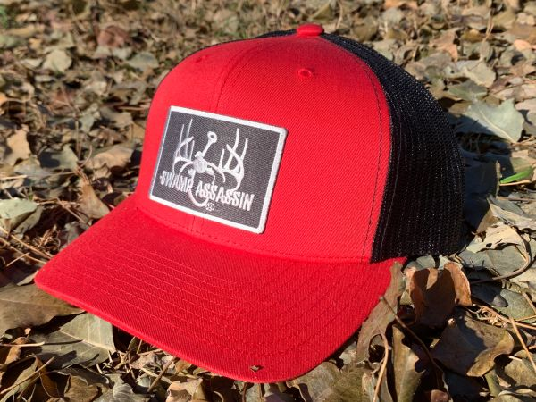 New GEN3 Red/Black Snapback with Dark Grey/Silver Patch
