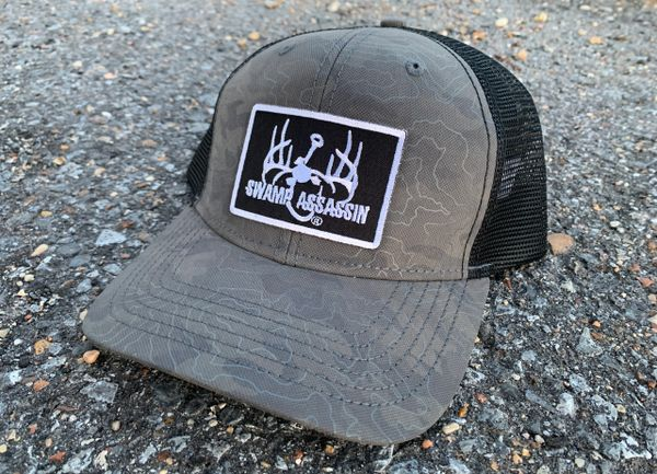 Swamp Assassin Off The Grid Snapback (Grey)