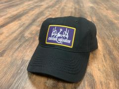 Guide Series Black Cotton Velcroback (LSU Patch)