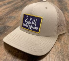 New G3 Swamp Assassin Khaki Ranch Series BaseballFit Snapback (AllKhaki Purple Gold Patch)