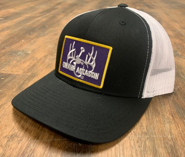 New G3 Black White Ranch Series Purple/ Gold Patch