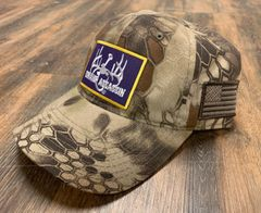 Swamp Assassin Kryptek Tactical Velcroback (LSU Patch)