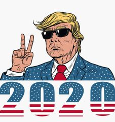 TRUMP 2020 MANCAVE BANNER
