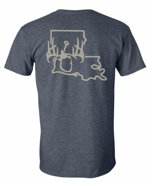 Swamp Assassin Louisiana State Tee