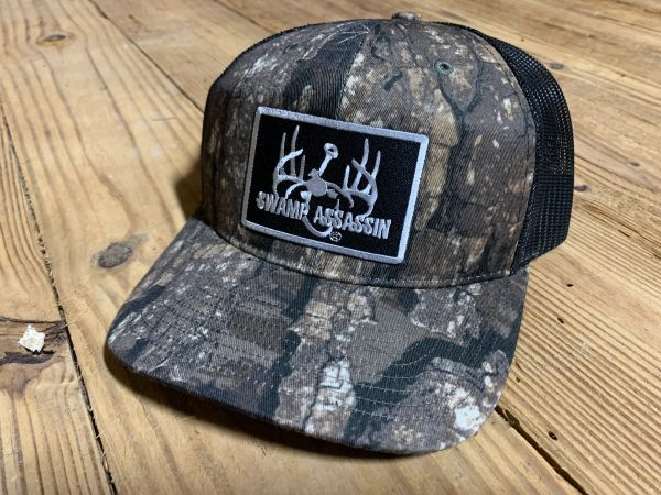 Swamp Assassin Realtree Timber Logo Patch Snapback