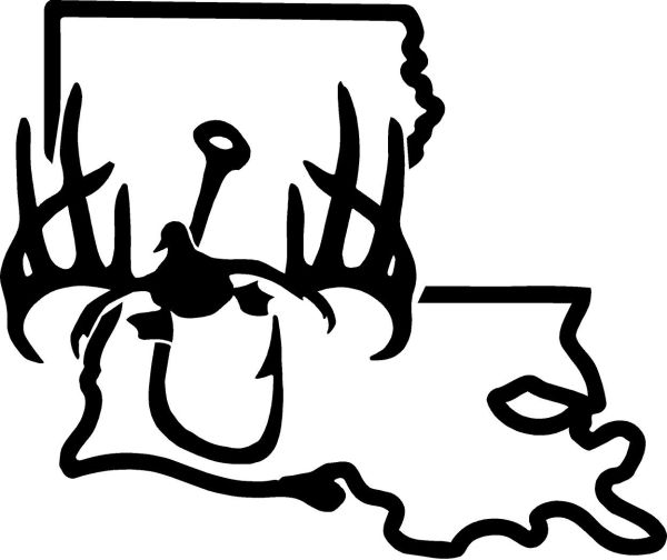 STATE DECALS (CLICK AND CHOOSE YOUR STATE)