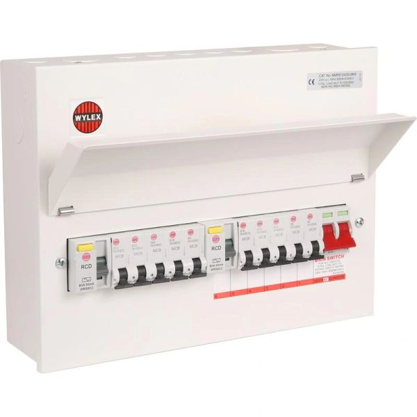 Fuse Box Conversion to BS7671 18th Edition | Wylex 17th Edition Fuse Box |  | Meerkat Electrical