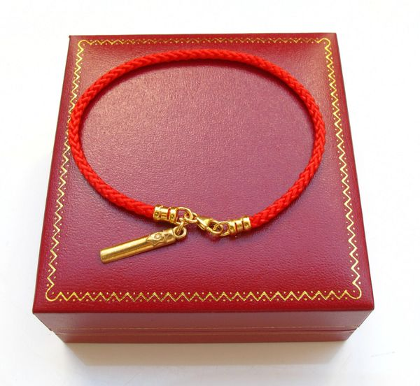 Kabbalah red string original rachel tomb mezuza charm bracelet