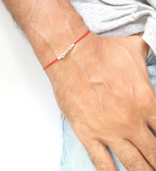 kabbalah red string bracelet original authentic luck protection Rachel tomb silver evil eye