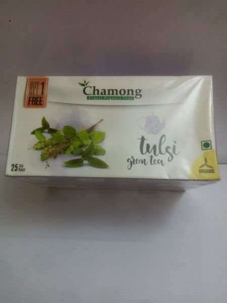 CHAMONG TULSI GREEN TEA BAGS(BUY 1 GET 1 FREE)