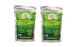 ORGANIC INDIA TULSI GREEN TEA CLASSIC 100 GRAM POUCH