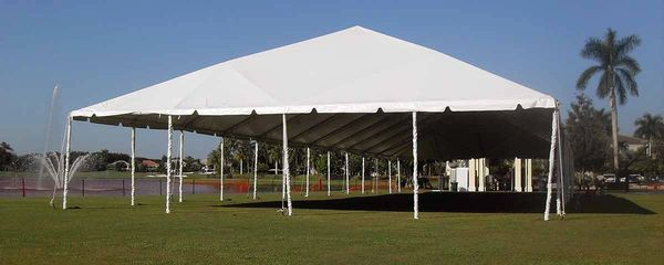 ****40' x 80' Frame Tent (Single & Twin Tube Hybrid Aluminum) (Variety of Colors in 4, 5, or 6-Piece)