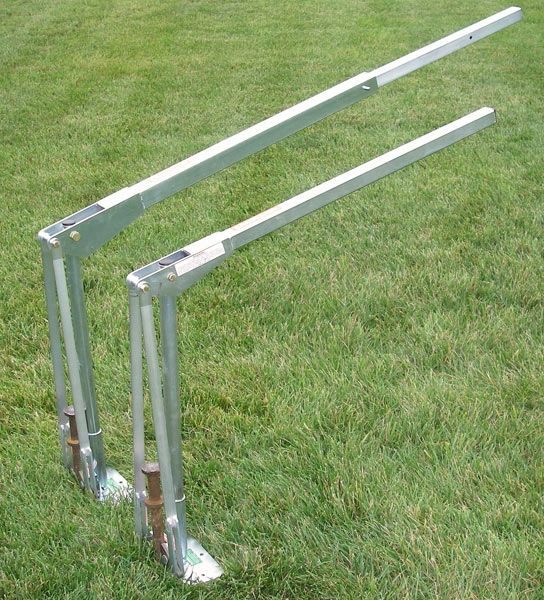 """JackJaw 501 - The JackJaw®501 is the fast, easy and safe way to pull ¾"""" to 1 ¼"""" tent stakes or rebar from hard ground conditions or stakes longer than 42"""". - Click on Picture"""