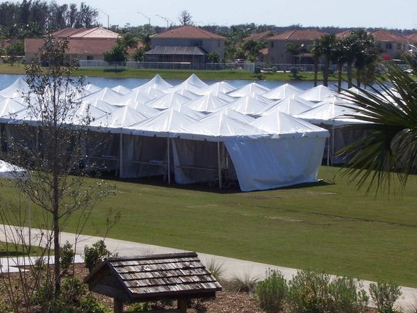 ****12' x 12' Frame Tent SuperSale (Single Tube Aluminum) (Variety of Colors in 1 or 2-Piece)