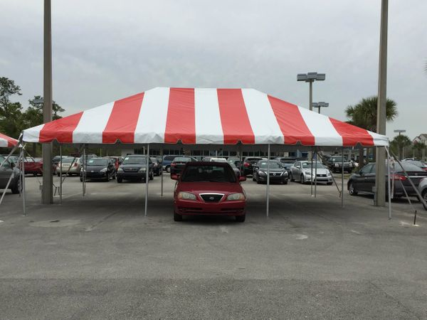 20' x 30' Frame Tent SuperSale (Single Tube Aluminum) (Variety of Colors in 1 or 3-Piece)