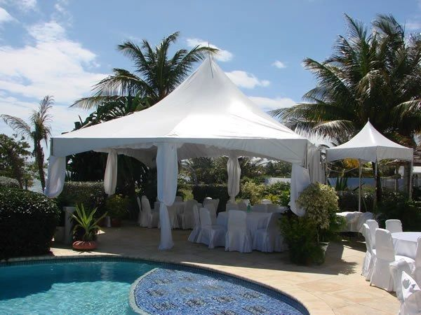 **20' x 20' High-Peak Tent Top (Variety of Colors)