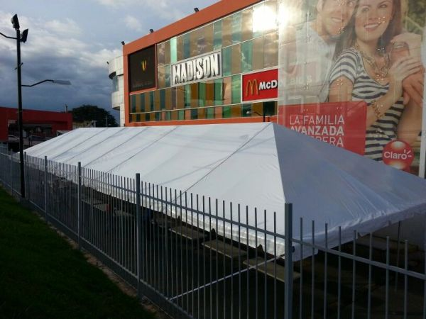 **20' x 80' Frame Tent SuperSale (Single Tube Aluminum) (Variety of Colors in 5, 6, 7, or 8-Piece)
