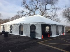 ***30' x 40' Frame Tent SuperSale (Single Tube Aluminum) (Variety of Colors in 1 and 3-Piece)