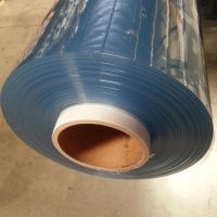 Clear Vinyl by the Roll (Commercial 16 Gauge Flame Retardant-Meets NFPA-701)