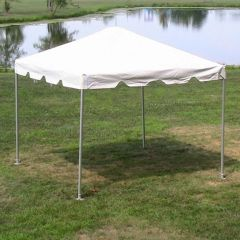 **10' x 10' Frame Tent SuperSale (Single Tube Galvanized Steel) (Variety of Colors in 1 and 2-Piece)