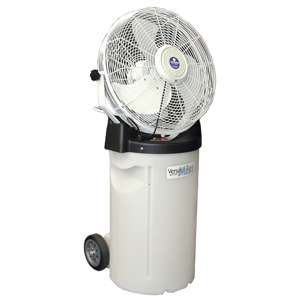 ****VersaMist Portable Misting Fan with 10 or 14 Gallon Tank (Available with White or Black Fan)