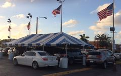 ***10' x 40' Portable Carport Structure (Single Tube Aluminum) (Variety of Colors in 1 , 3, or 4-Piece)