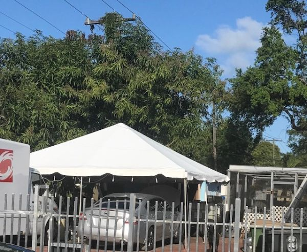 ****20' x 20' Portable Carport Structure SuperSale (Single Tube Aluminum) (Variety of Colors & Fabrics in 1 or 2-Piece 5 to 100% Shade Blockout, Translucent, or Mesh)