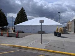 ***40' x 50' Frame Tent (Single & Twin Tube Hybrid Aluminum)(Variety of Colors in 3-Piece)