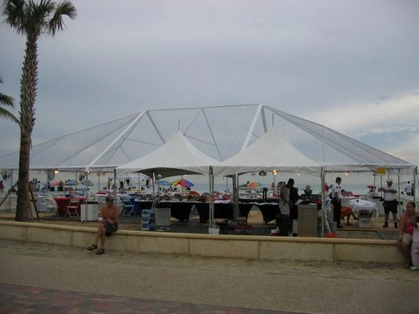 ****30' x 60' Frame Tent (Single & Twin Tube Hybrid Aluminum) (Variety of Colors in 3, 4, or 5-Piece)
