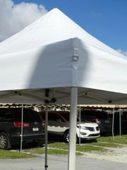 10' x 10' Pop-Up Tent (Commercial Galvanized Steel)