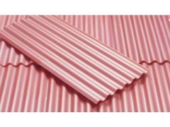 23267 Red Corrugated Roof Sheets 1:32 Scale by Juweela
