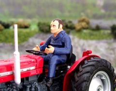 WM051 Tractor Driver Forward Facing
