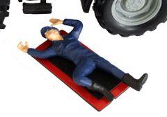 WM077 Lying Down Mechanic by HLT Miniatures