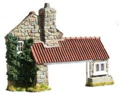 C07 Blacksmiths Shop Facade by JG Miniatures