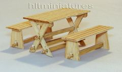 PLM414 Garden Furniture in 1:32/1:35 scale by Plusmodel