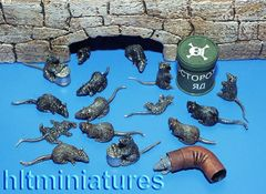 PLM171 Rats in 1:32/1:35 scale by Plusmodel